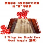 5 Things You Should Know About Yangqin (揚琴)