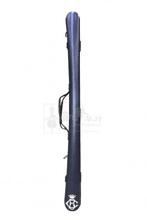B&C Cello Bow Case 大提琴弓盒 Carbon Fiber Glitter Blue