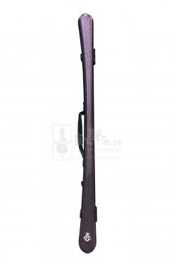B&C Violin Bow & Viola Bow Case 小提琴弓&中提琴弓盒 Carbon Fiber Glitter Purple