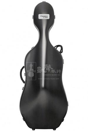 bam Cello Case 大提琴盒 Classic with Wheels Black