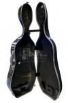 bam Cello Case 大提琴盒 Cosmic Supreme Hightech Polycarbonate Silver