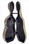 bam Cello Case 大提琴盒 Hightech Supreme Polycarbonate Champagne