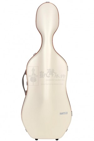 bam Cello Case 大提琴盒 Ice Supreme Hightech Polycarbonate Orange