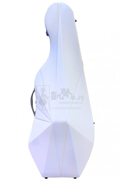 bam Cello Case 大提琴盒 L'Opera Hightech White