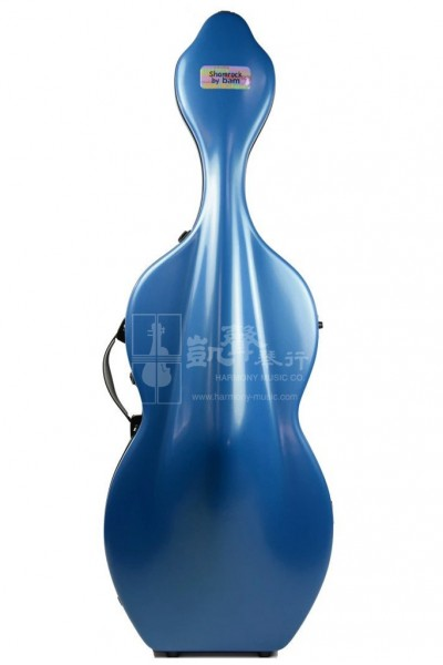 bam Cello Case 大提琴盒 Shamrock Hightech with Wheels Blue