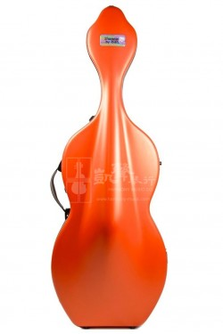 bam Cello Case 大提琴盒 Shamrock Hightech with Wheels Orangey