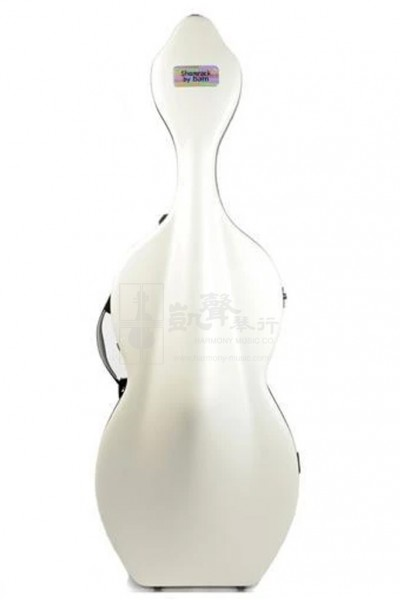 bam Cello Case 大提琴盒 Shamrock Hightech with Wheels White