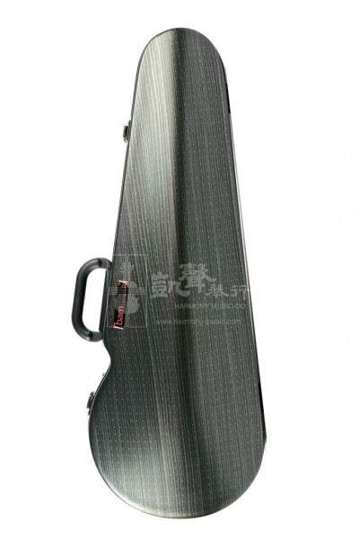 bam Viola Case 中提琴盒 Hightech Contoured Black Lazure