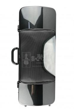 bam Viola Case 中提琴盒 Hightech Oblong with Pocket Black Carbon Look
