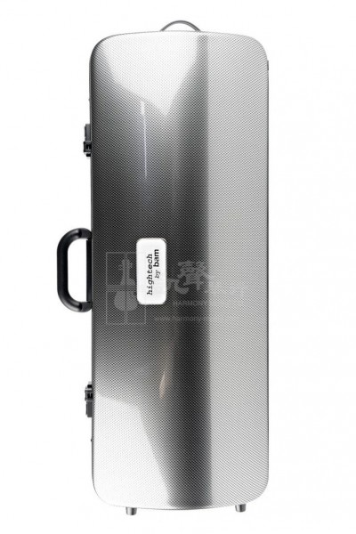 bam Viola Case 中提琴盒 Hightech Oblong Silver Carbon Look