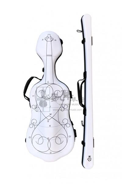 B&C Violin Case + Violin Bow Case 小提琴盒+小提琴弓盒 Carbon Fiber Alexander Plus Violin Construction