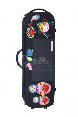 bam Violin Case 小提琴盒 Katyushka Oblong Black