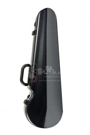 bam Violin Case 小提琴盒 Hightech Contoured Black Carbon Look