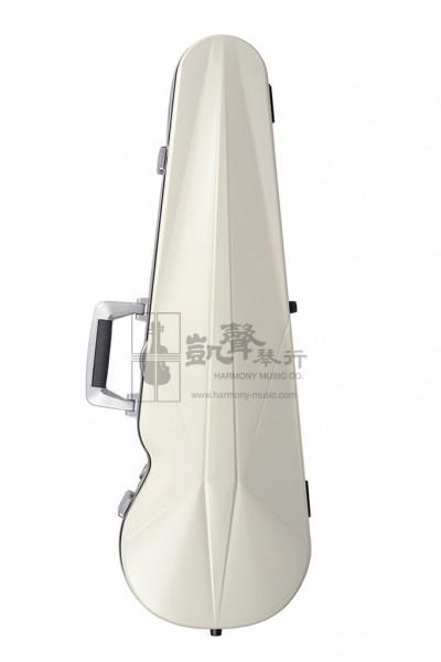 bam Violin Case 小提琴盒 Ice Supreme Contoured Silver