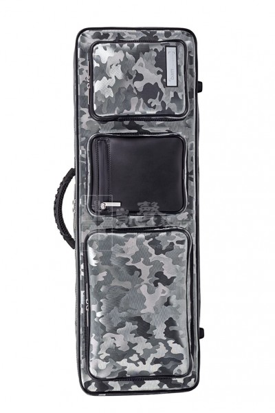 bam Violin Case 小提琴盒 Performance Oblong Camo Silver