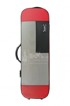 bam Violin Case 小提琴盒 Stylus Oblong Red