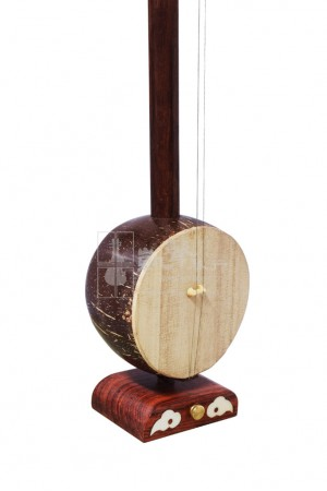 Beijing Rosewood High-Pitch Banhu by Man Ruixing