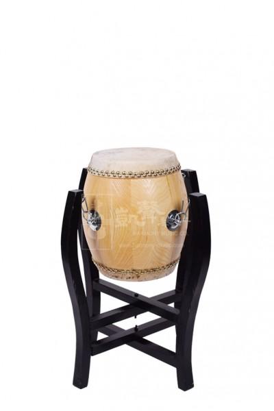 Suzhou White Drum 堂鼓 with stand (Tanggu)