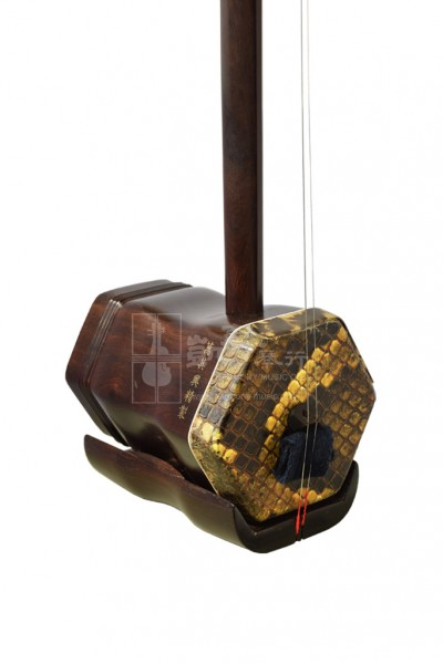 Suzhou Purple Sandalwood Erhu by Wan Qixing