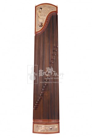 Shanghai Dingyun Guzheng 古箏 Rosewood 21-Strings