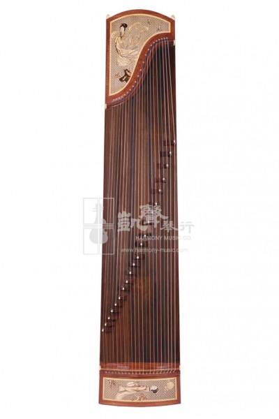 Shanghai Dingyun Rosewood 21-Strings Guzheng