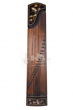 Shanghai Dunhuang Yun Guzheng 古箏 Faux Aged Rosewood 21-Strings