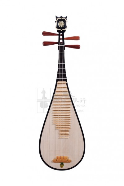 Shanghai Dunhuang Pipa 琵琶 Whitewood with Rosewood Pegs