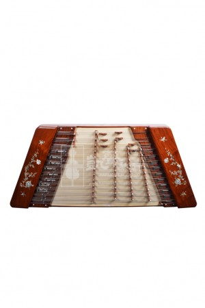 Beijing Xinghai Yuehua Yangqin 揚琴 402 Rosewood with Shell Carving