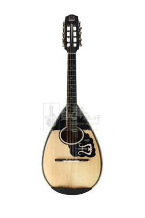 Mandolin (Neapolitan Round Bowl Backed), 13 Stripes